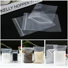 100pcs Grip Seal bags Resealable Clear Plastic ZIP LOCK Polythene bag Cheapest