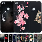 For Huawei P Smart/P8 P9 Lite Mini Shockproof Soft Painted TPU Back Case Cover