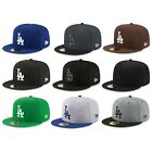 Los Angeles Dodgers LAD MLB Authentic New Era 59FIFTY Fitted Cap - 5950 Hat New