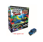 360PCS Magic Tracks Race Track With LED Race Cars Glow In The Dark Tracks/2 cars