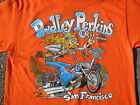 Dudley Perkins Co. Harley-Davidson Hippie Biker T Shirt BRAND NEW $19.0 USD