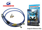 Goodridge For Suzuki TS250XG-XJ 85-89 Front Braided Brake Line Hose Stainless St