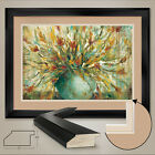 """44W""""x32H"""": GRANDE BOUQUET by WANI PASION - VASE - DOUBLE MATTE GLASS and FRAME"""