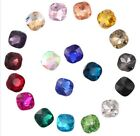 100PCS Mixed Colors Pointed CUSHION CUT Fancy Glass Stones (20 Colors)