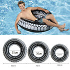 Giant Inflatable Tyre Tube Float Beach Swimming Pool Sea Swim Rubber Ring