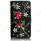 Cell Phone Case Covers & Skin for Samsung Galaxy Bling Diamonds Protective Skin