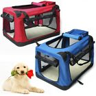 Dog Crate Soft Sided Pet Carrier Folding Training Kennel Portable Cage House New