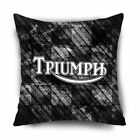"TRIUMPH Classic Logo Motorcycle Pillow Case Cover 20""x20"" $20.89 USD on eBay"