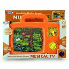 WIND UP MUSICAL TV MOVING PICTURE TODDLER AND BABY TOY 12 MONTHS