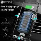 CAFELE 10W QI Wireless Charger Car Mount Holder For iPhone X 8 Samsung Note8 S9