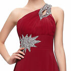 Long Chiffon Evening Gown Bridesmaid Dresses Prom Formal Party Ball UK Size 6-20