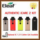 Authentic Eleaf iCare 2 650mah All In One Starter Kit w/ Optional Eleaf IC Coils