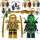 addicted by zane online - LEGO NINJAGO MINIFIGURE SET ZANE LLOYD COLE NYA KAI JAY & GOLDEN LLOYD GARMADON