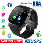 T8 Bluetooth Sport Track Smart Watch Camera 4 iPhone Samsung Android Phone Mate
