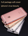 IPhone X 8 7 Plus Crystal Clear Slim Soft Hard Case Cover Shockproof for Apple