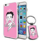 Betty Boop Design Hard Case Cover & Free Keyring For Various Mobiles - 09 £5.9 GBP on eBay