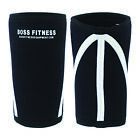 Boss Fitness Knee Sleeves for Bodybuilding Cross Fit Power Lifting Heavy Squats