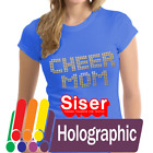 "Внешний вид - Siser Holographic Heat Transfer Vinyl HTV for T-Shirts 20"" Roll(s)"