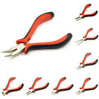 Set Wire Side Mini Cutters Nose Round Onw Pliers Making Beading Use Tools Flush