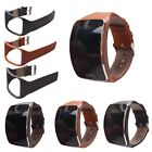 Genuine Leather Watch Band Strap Wristband Bracelet For Samsung Gear S SM-R750 image