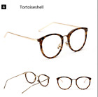 Vintage Retro Round Eyeglass Frames Full-rim Women Men Spectacles Eyewear Clear