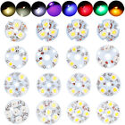 200Pcs LED Chip Beads Light 3W 4W 5W For Ceiling Candle Spot Aluminum PCB Bulbs