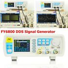 FY6800 DDS Signal Generator 0.01-100MHz Function Arbitrary Waveform Pulse