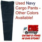 Used Uniform Work Pants Cargo Cintas Redkap Unifirst GK
