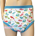 Cuddlz Colourful Dinosaur Pattern Adult Size Padded Training Pants Briefs