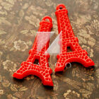 2/14pcs Resin Flatback Cabochons Triangular Eiffel Tower Embellishments BFRB0658