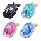 Swimming Diving Full Face Snorkel Scuba Anti-Fog Mask for GoPro S/M/L/XL