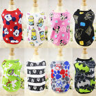 Summer Pet Dog Puppy Cat Clothes Cotton Thin Vest T Shirt Tops Costume Apparel