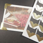 Self-adhesive Photo Corner Scrapbooking Craft Photo Corners Protector Stickers&