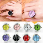 Hot Creative Steel Cool Ring With Quartz Watch Female Ring Classic Flip Finger image