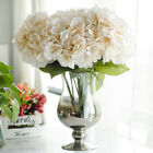 5 Heads 1 Bunch Fake Artificial Floral Flower Bouquet Hydrangea Party Decor Uk