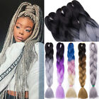 Hair Extensions Crochet Box Braids Jumbo Braiding Hair Synthetic Ombre 5pcs fo3