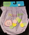 "Making Miracles by Nojo Diaper Cover ""On the Move"" Purple 0-6/6-12 Months"