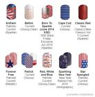 nail wrap - Patriotic designs ~ Jamberry nail wraps ~ current & retired ~ HALF sheets