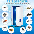 Ultrasonic Electronic Plug Rat Mouse Mice Spider Insect Pest Repeller Deterrent