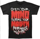 Motionless In White Rock Band  3D Printed Women/Men's T-Shirts  M02