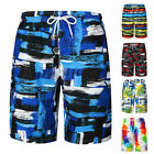 Men's Swimwear Shorts Surf Quick Dry Beach Trunks Holiday Swims Casual Board
