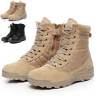 Maelstrom LANDSHIP 8 Military Tactical Work Boots With Zipper Cool Vogue HOT