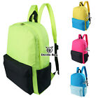 maxpedition bags clearance - Clearance Contrast Solid Color Canvas School Bag School Rucksack Casual Backpack