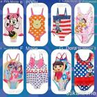 NWT Disney Minnie Mouse oR Princesses oR Pooh oR Dora oR My Little Pony Swimsuit