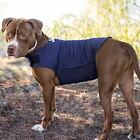 Dog Anxiety Vest Stress Relief Calming Pressure Wrap for Pets, Navy, M NEW