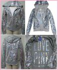 RARE ❤ NEW LIMITED New Victoria Secret Pink FASHION SHOW Sequin JACKET HOODIE XS
