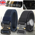 Adjustable Men Military Belt Buckle Combat Waistband Tactical Rescue Tool NEW