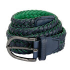 J Lindeberg Brayden Braided Belt- New with Tags