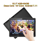 """10.1"""" 7"""" Tablet PC 4G+64G Card Android7.11 Deca-Core Dual SIM Phone Wifi Phablet"""
