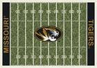 Missouri Tigers Mizzou Football Field Rug